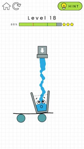 دانلود Happy Glass 1.0.59 - بازی پازل لیوان خوشحال برای اندروید