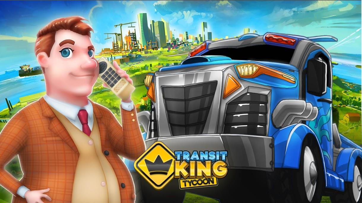 دانلود Transit King Tycoon – Transport Empire Builder 3.2 - بازی امپراتوری حمل و نقل اندروید