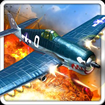 دانلود Air Combat Pilot: WW2 Pacific 1.1.016  بازی خلبان جنگ هوایی اندروید