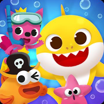 دانلود Baby Shark Match: Ocean Jam 1.2.7 – بازی پازلی بچه کوسه اندروید