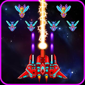دانلود Galaxy Attack: Alien Shooter 32.2 – بازی آرکید نبرد کهکشان اندروید