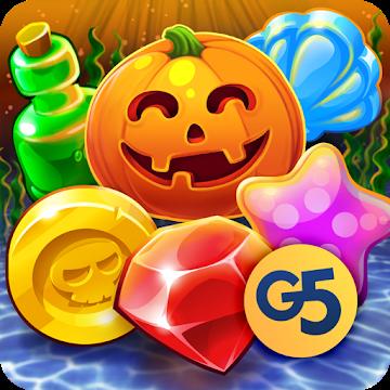 دانلود Pirates & Pearls: A Treasure Matching Puzzle 1.6.800 – برای پازلی اندروید