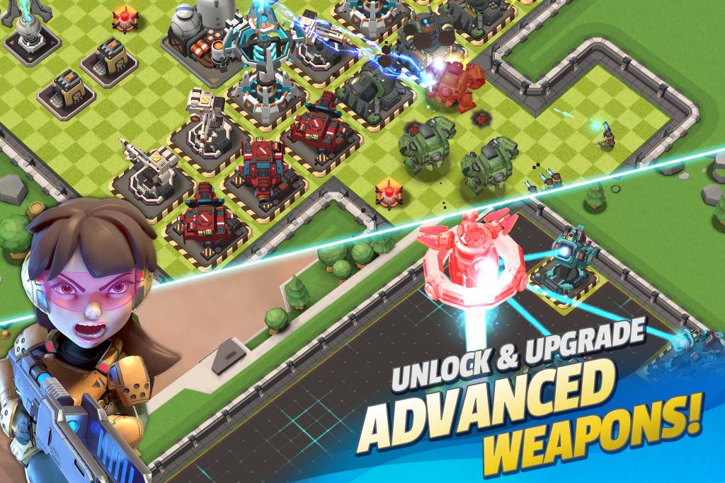 دانلود Mad Rocket: Fog of War Inspired by RTS 1.17.2 - بازی استراتژیکی موشک اندروید