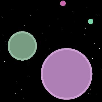 دانلود Nebulous 2.3.3.1 بازی اکشن و اعتیاد آور سیاره دایره ها اندروید