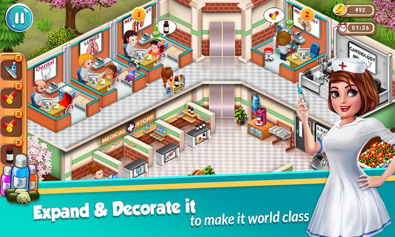 dr dash - دانلود Doctor Dash : Hospital Game 1.32 – بازی مدیریت بیمارستان اندروید