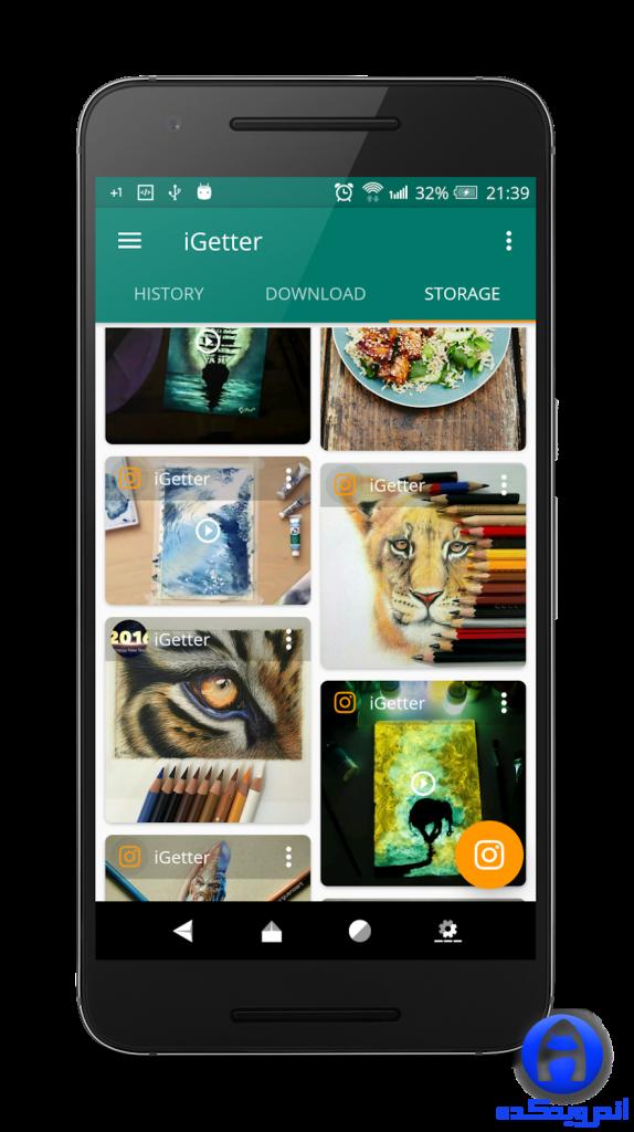 برنامه دانلود عکس و فیلم از اینستاگرام iGetter for Instagram Pro 4.4.38 اندروید