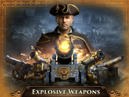 دانلود Guns of Glory 6.15.0  - بازی استراتژیک اسلحه افتخار برای اندروید