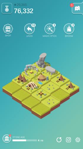 دانلود Age of 2048: Civilization City Building Games 2.5.1 - بازی پازل عصر 2048 اندروید + مود