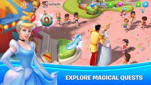 دانلود Disney Magic Kingdoms 5.1.2b - بازی پر طرفدار پادشاهی جادویی دیزنی اندروید