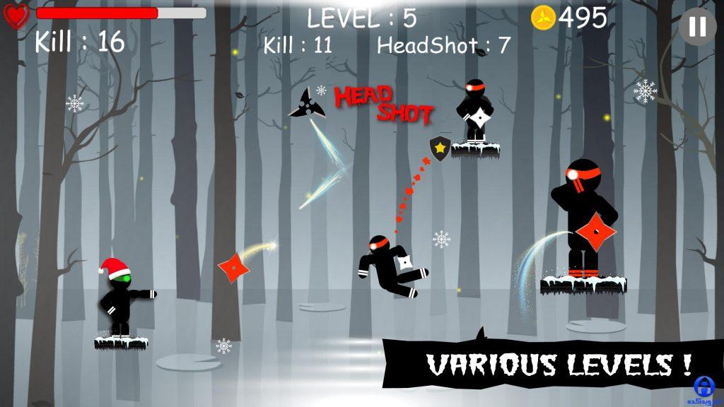 دانلود Ninja: Samurai Shadow Fight 1.001 – بازی نقش آفرینی نینجا سامورایی اندروید