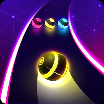 دانلود ۱٫۶٫۱ Dancing Road : Colour Ball Run – بازی تفننی حرکت توپ برای اندروید