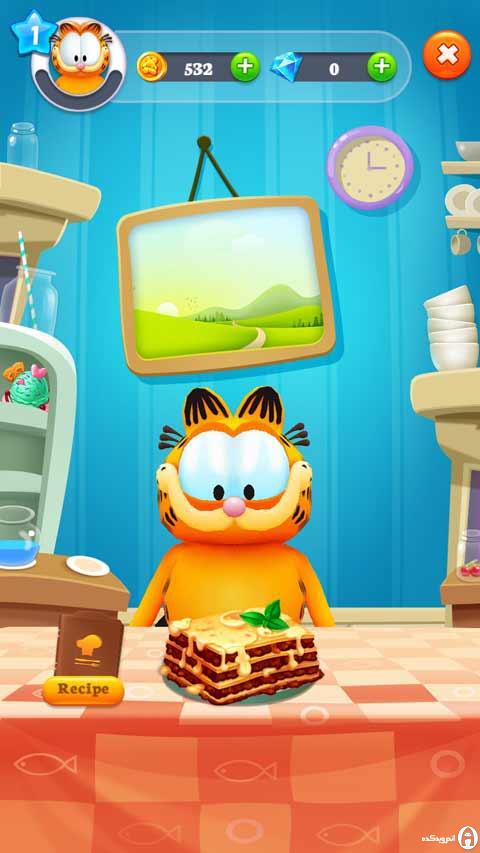 دانلود 5.0.4 Garfield Run – بازی دوندگی گارفیلد برای اندروید