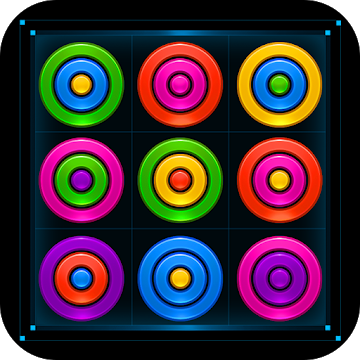 دانلود Color Rings Puzzle 2.3.3 – بازی حلقه های رنگارنگ اندروید