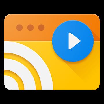 دانلود Web Video Cast | Browser to TV – برنامه پخش آنلاین تلویزیون اندروید