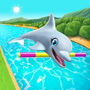 دانلود بازی هنرنمایی دلفین My Dolphin Show v4.37.8 اندروید