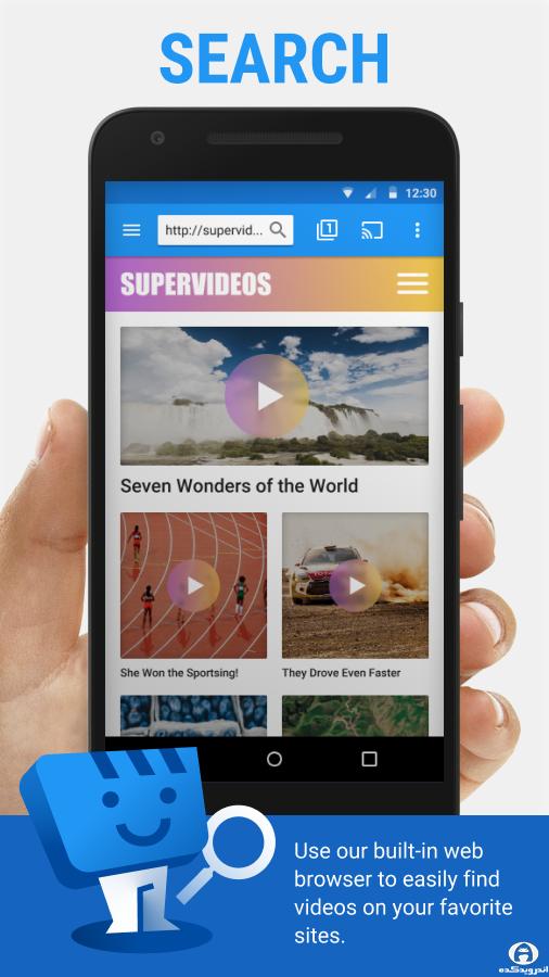 دانلود Web Video Cast | Browser to TV - برنامه پخش آنلاین تلویزیون اندروید