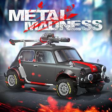 دانلود Metal Madness: PvP Shooter 0.40 بازی ماشین جنگی آنلاین اندروید