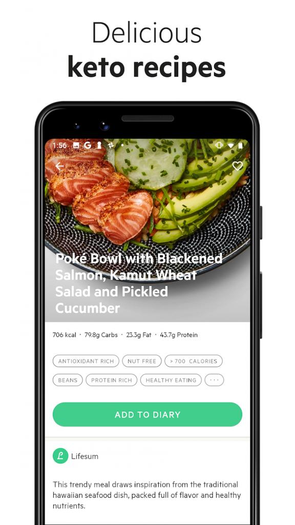دانلود Lifesum: Calorie Counter, Food & Nutrition Tracker 8.12.0 - برنامه رژیم غذایی لاغری اندروید