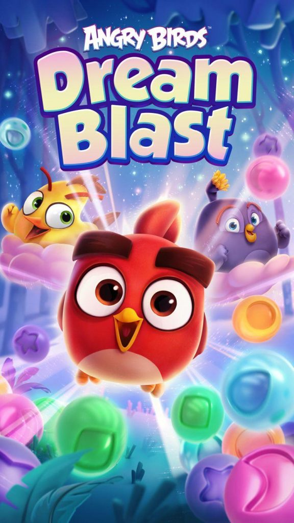 دانلود Angry Birds Dream Blast 1.5.1 بازی انفجار پرندگان خشمگین اندروید