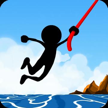 دانلود Rope Pull : Extreme Swing 2.3.4 – بازی آرکید بندباز اندروید