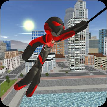دانلود Stickman Rope Hero 3.0 – بازی استیکمن قهرمان اندروید