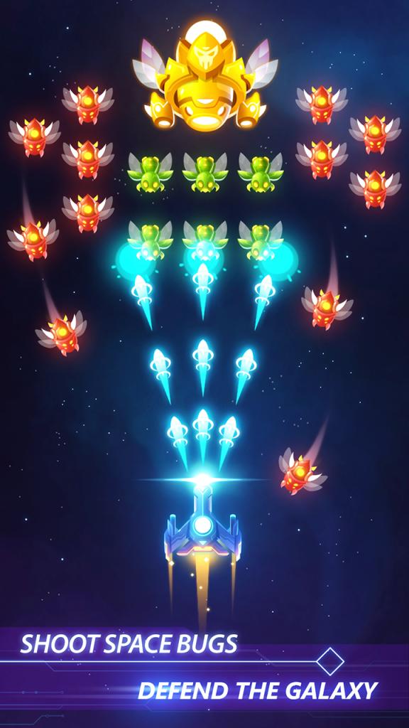 دانلود Star Force: Patrol Armada 1.5.6 بازی تیراندازی فضایی برای اندروید