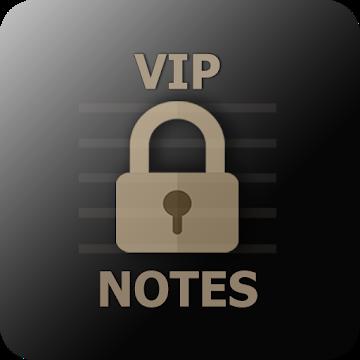 دانلود VIP Notes – keeper for passwords, documents, files v9.9.4 – برنامه یادداشت برداری با پسورد اندروید