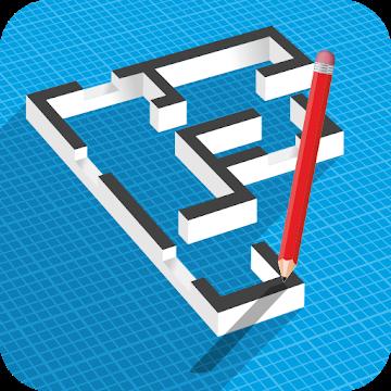 دانلود Floor Plan Creator 3.3.5 – برنامه طراحی نقشه خانه برای اندروید