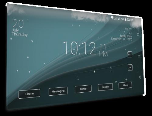 دانلود Final Interface – launcher + animated weather v2.16.2 – برنامه لانچر زیبا و انیمیشنی اندروید