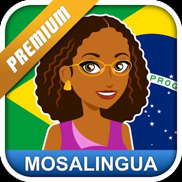 دانلود Learn Brazilian Portuguese with MosaLingua v10.32 – برنامه آموزش زبان پرتغالی برزیلی اندروید