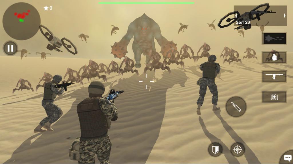 دانلود Earth Protect Squad: Third Person Shooting Game 2.19 بازی تیراندازی سوم شخص اندروید