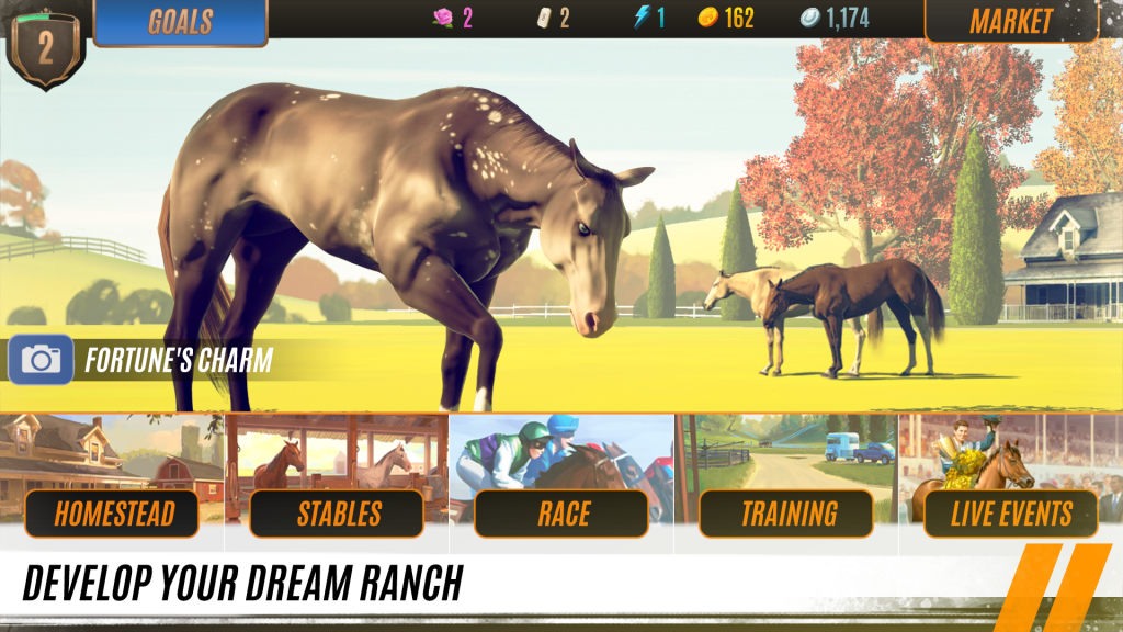 دانلود Rival Stars Horse Racing 1.25.1 - بازی مسابقات اسب سواری اندروید