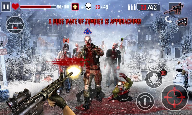 دانلود Zombie Killing - Call of Killers 2.7 - بازی کشتن زامبی ها اندروید