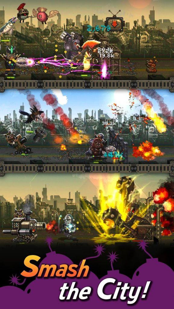 دانلود World Beast War: Destroy the World in an Idle RPG 1.070 - بازی شبیه سازی اندروید