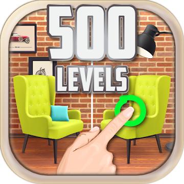 دانلود Find the Differences 500 levels 1.0.9 – بازی پازلی و فکری تفاوت را پیدا کن اندروید