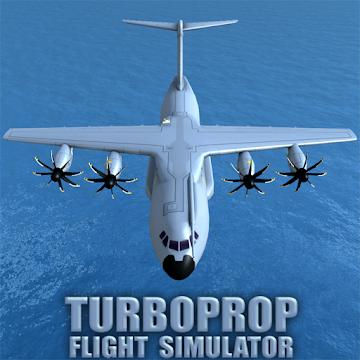 دانلود Turboprop Flight Simulator 3D 1.22 – بازی شبیه سازی پرواز با هواپیما اندروید