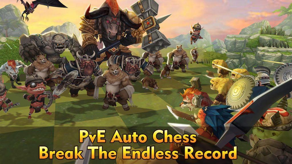 دانلود Auto Chess War 1.961 - بازی استراتژیکی مبارزات شطرنجی اندروید
