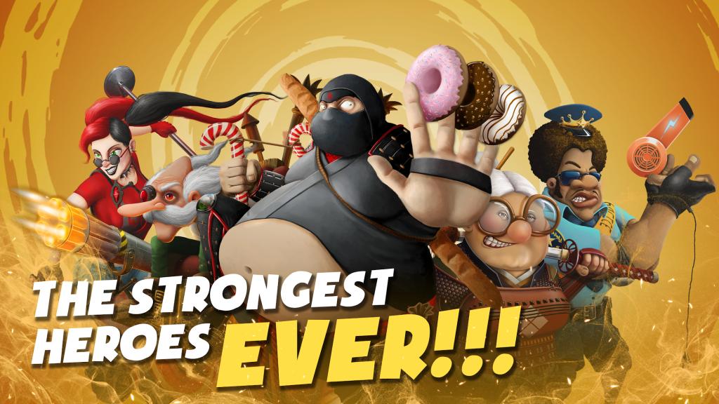دانلود Awakening of Heroes: MOBA 5V5 v1.6.1 - بازی اکشن آنلاین بیداری قهرمانان اندروید