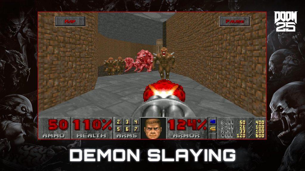 دانلود DOOM II 1.0.8.174 - بازی اکشن رستاخیز 2 اندروید