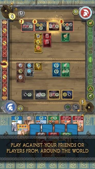 دانلود A 7 Wonders DUEL 1.0.0 - بازی تخته ای عجائب هفتگانه اندروید