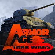 دانلود Armor Age: Tank Wars 1.18.311 – بازی استراتژیکی  تاکتیک های نبرد جنگ افکن WW2  اندروید