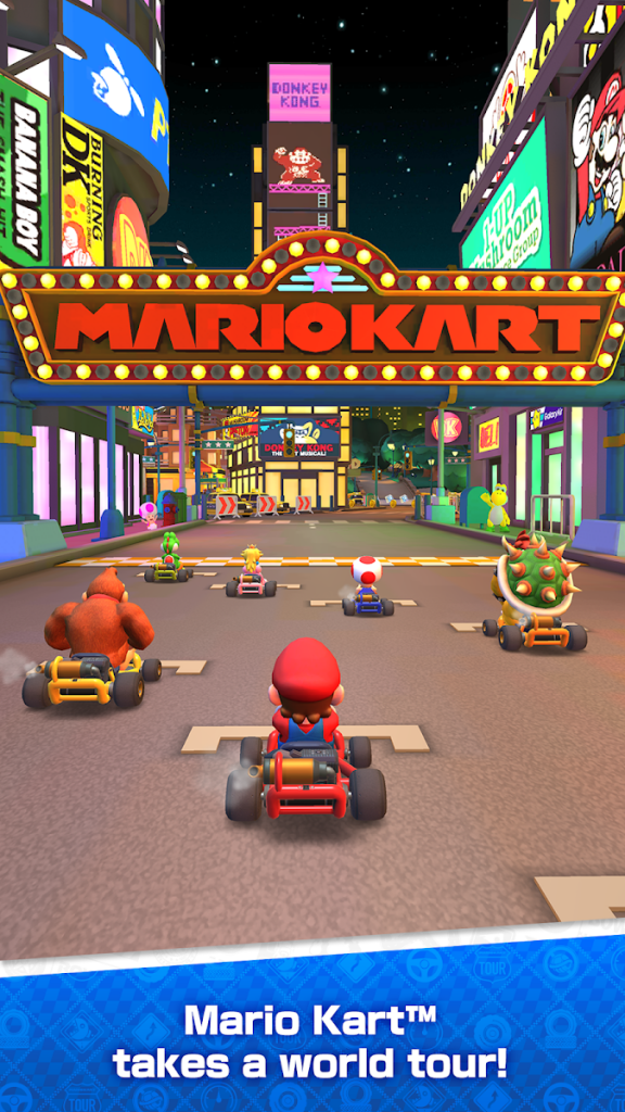 دانلود Mario Kart Tour 2.8.0 - بازی اکشن تور ماریو کارت اندروید