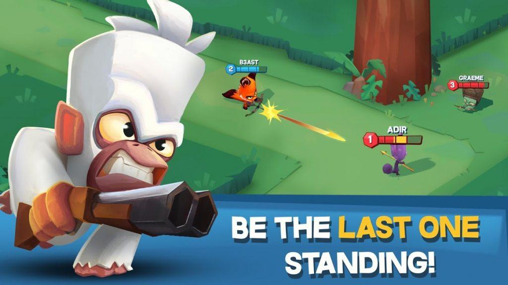 دانلود Zooba: Free-For-All Battle Game 2.11.0 - بازی اکشن زوبا اندروید