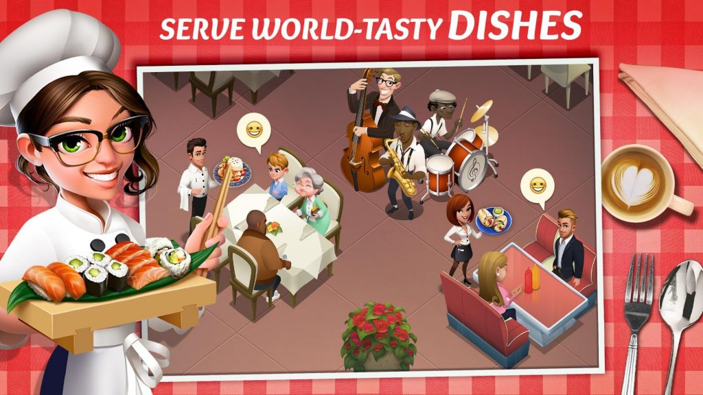 دانلود 1.17.18 Tasty Town Cooking & Restaurant Game - بازی مدیریت رستوران اندروید