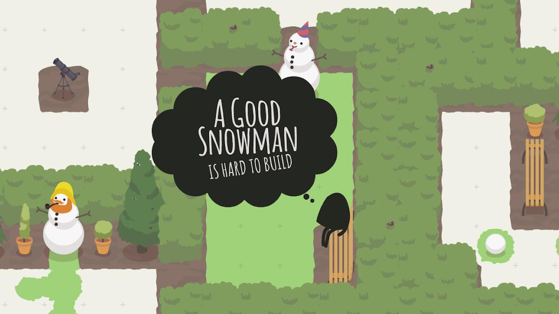 دانلود A Good Snowman 1.1.0 - بازی پازلی آدم برفی اندروید