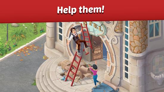 دانلود Family Hotel: Renovation & love story 2.5 - بازی سرگرم کننده هتل خانوادگی اندروید