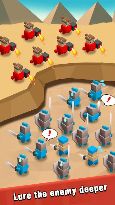 دانلود 3.6.4 Art of War: Legions - بازی استراتژیکی هنر جنگی اندروید