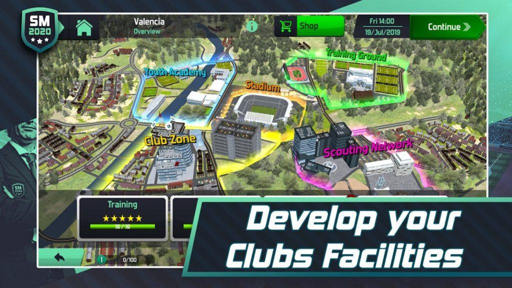 دانلود Soccer Manager 2020 v1.2.0 - بازی مربیگری فوتبال آنلاین اندروید