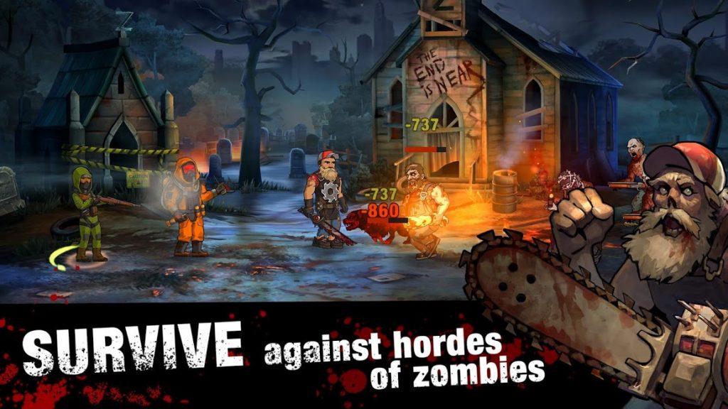 دانلود Zero City: Zombie Shelter Survival 1.20.3 - بازی شبیه سازی شهر زیرزمینی اندروید