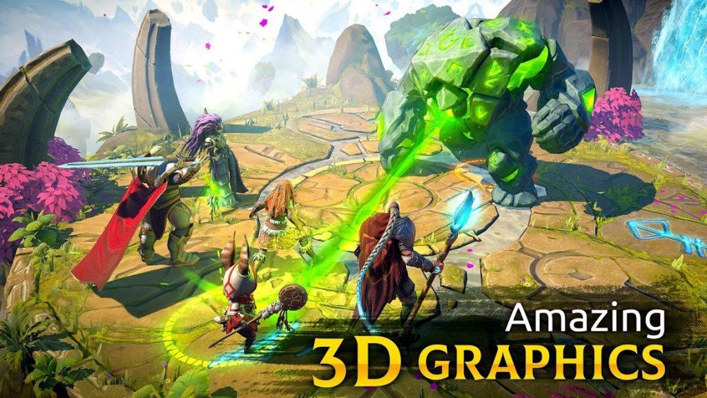 دانلود Age of Magic 1.31.1 - بازی نقش آفرینی سحر و جادو اندروید
